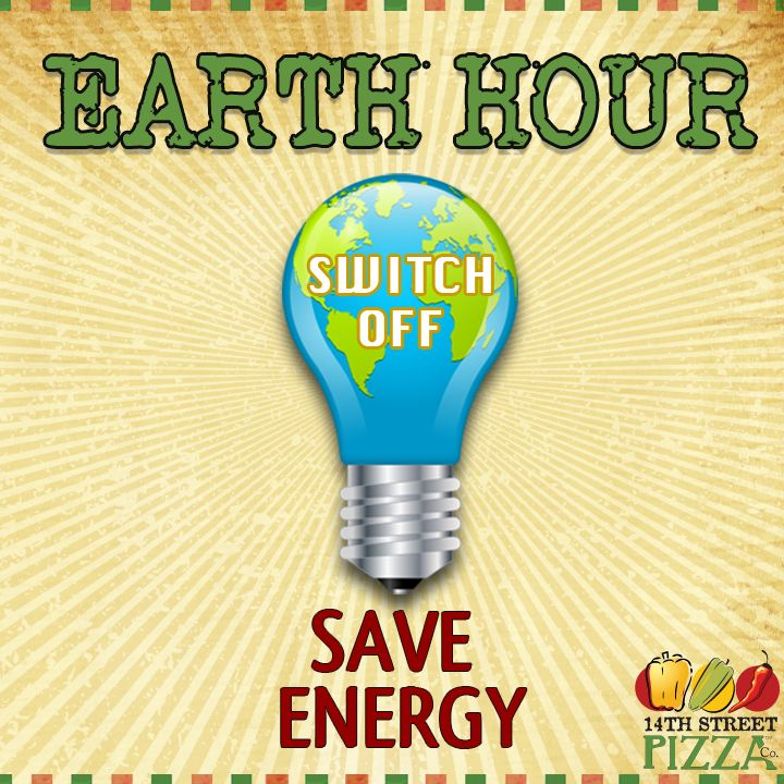 23rd March'13 - Earth Hour Day!