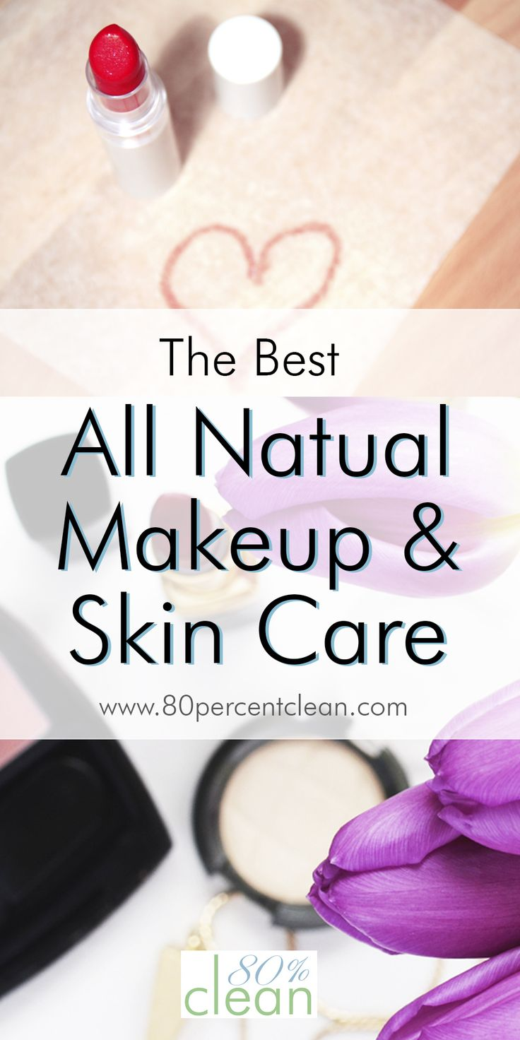 Great picks from all natural makeup and skin care lines. All of the toxic chemicals to stay away from too!