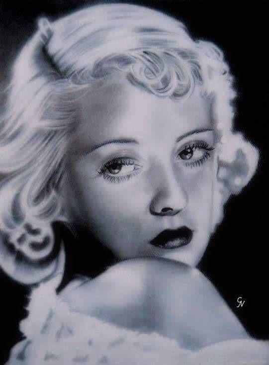 Bette Davis by Cecelia Nutley