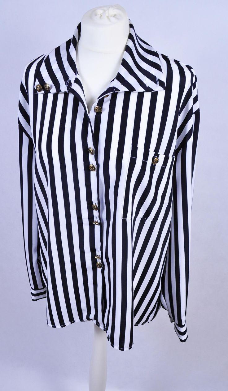 koszula vintage w paski