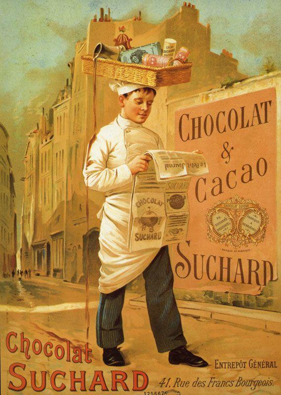 Chocolat Suchard.