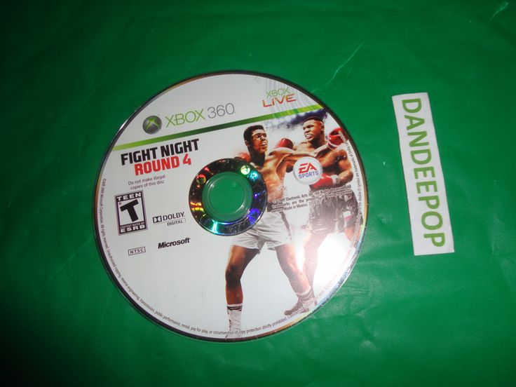 XBox XBox 360 Live Fight Night Round 4 EA Sports 2009 Video Game find me at www.dandeepop.com