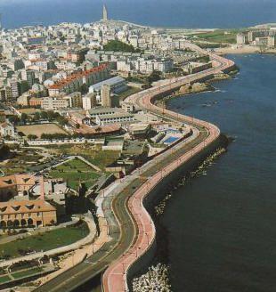 Paseo Marítimo de #ACoruña #Galicia #SienteGalicia