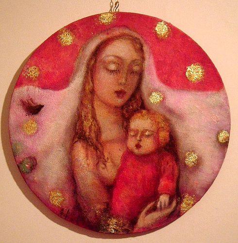 Lucia Merli - Madonna con Bambino photo by Lucia Merli arte