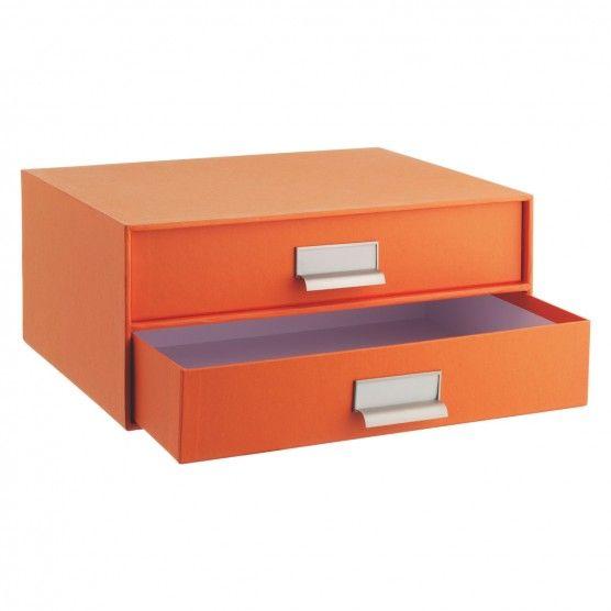 GARNER Orange 2 drawer file | Buy now at Habitat UK