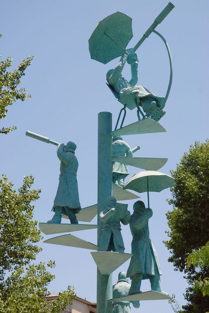 Parque Bustamante Sculpture, Santiago-Chile
