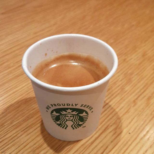 Double espresso to start the day... OK I might have already had the first :-)
