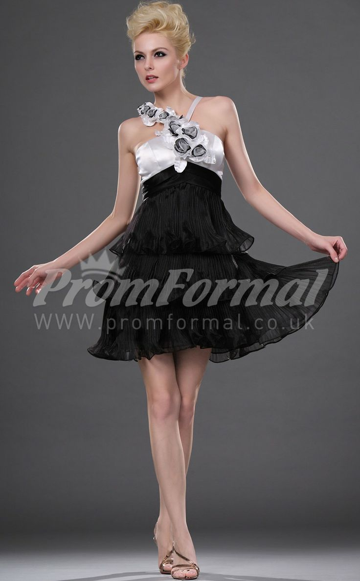 Black short prom dresses uk
