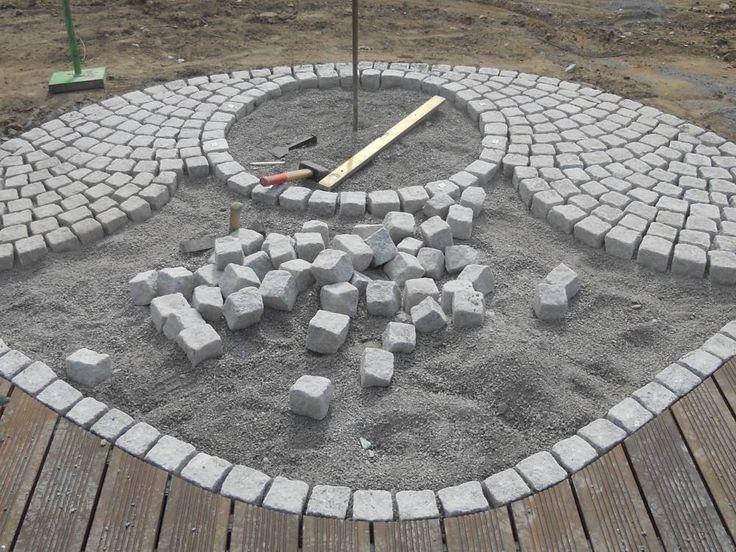 Natursteinpflaster aus Granit