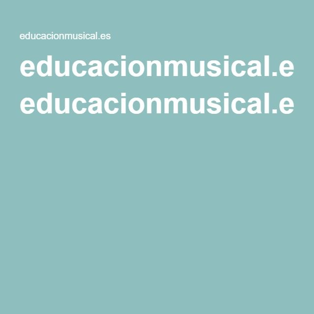 educacionmusical.es