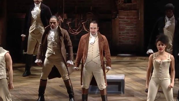 "Hamilton"" cast ends Thursday night show with Prince tribute dance ..."