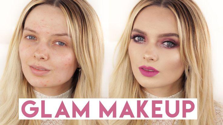 Acne Coverage GLAM Makeup Tutorial  // MyPaleSkin