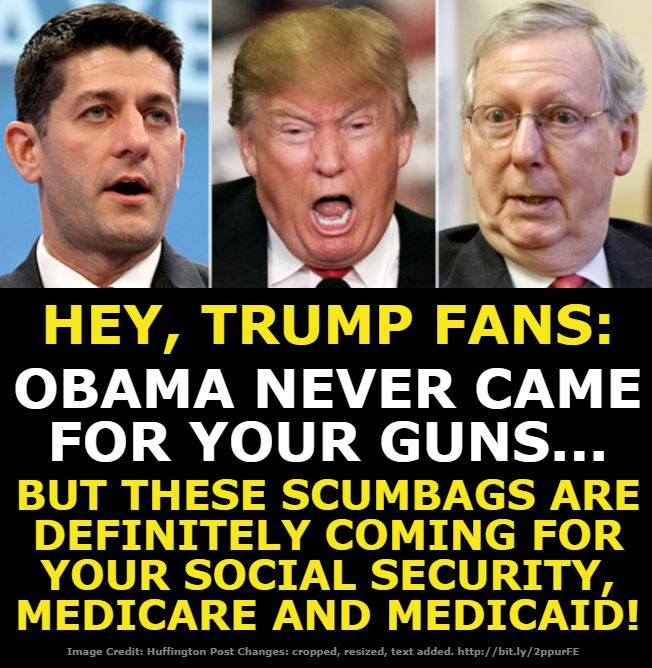 As they pocket a 1.5 Trillion dollar tax cut for themselves, their donors and rich cronies. Our middle class children and grandchildren will be strapped with this bill for generations to come.