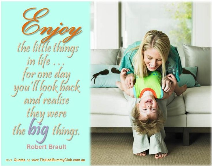 """{#Love #Quote} """"Enjoy the little things in life … for one day you'll look back and realise they were the big things"""" Robert Brault. Love this so much!"""