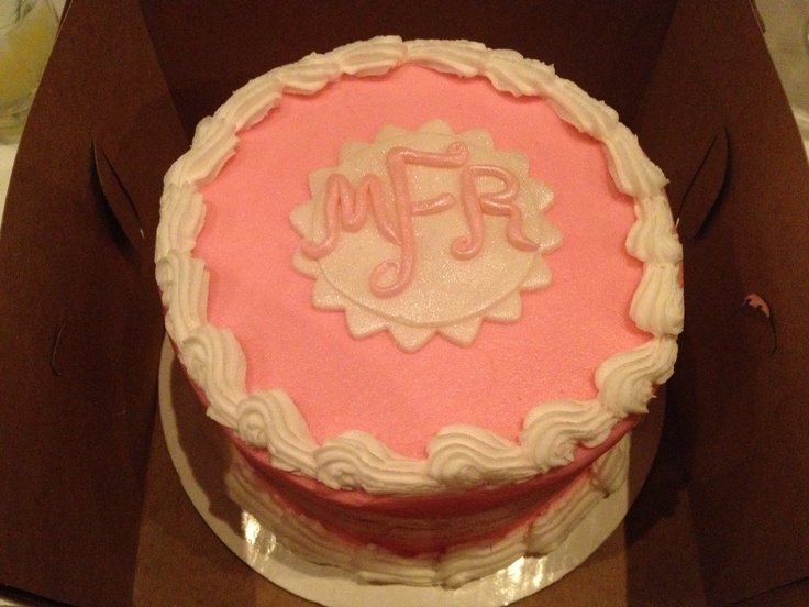 The  Best Monogram Birthday Cakes Ideas On Pinterest Th - Monogram birthday cakes