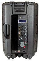 """Audiopipe 15"""" DJ Speaker Built in Amp 500 W MAX"""