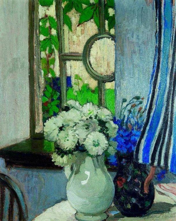 Margaret Preston - The window, 1916