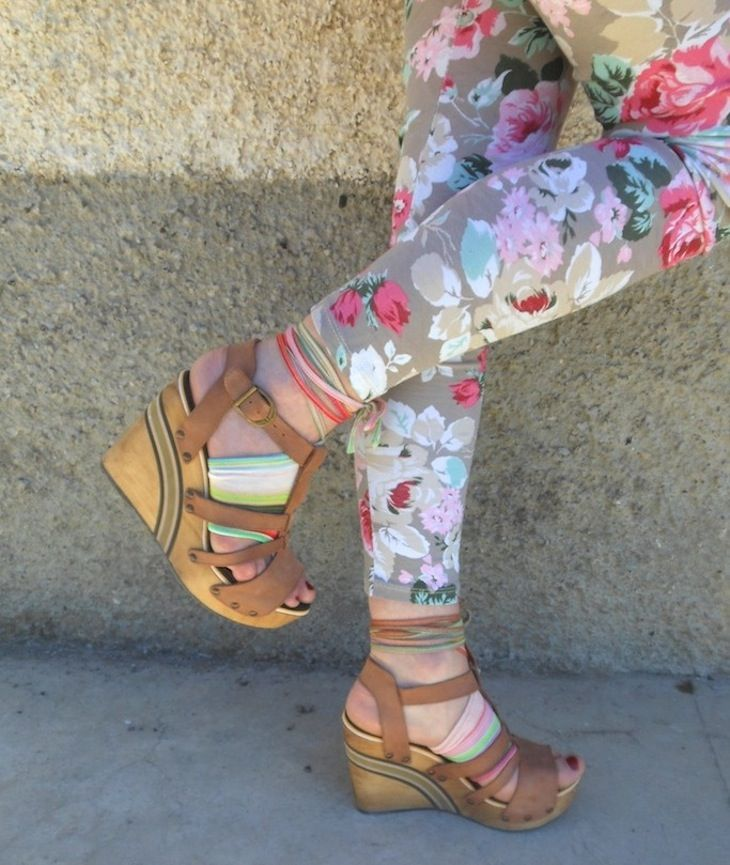 #sweatshirt #asos #IdeaOufit  #felpa #verde #leggings #fiorati , borsarosa #calzettearighe, #lookverderosa #green #pinklook #summertrend2013 #fashion blogger #amandamarzolini #thefashionamy #accessori #mariagraziapanizzi #outfit #styleideas #fashionblog #estate2013 #inspiration