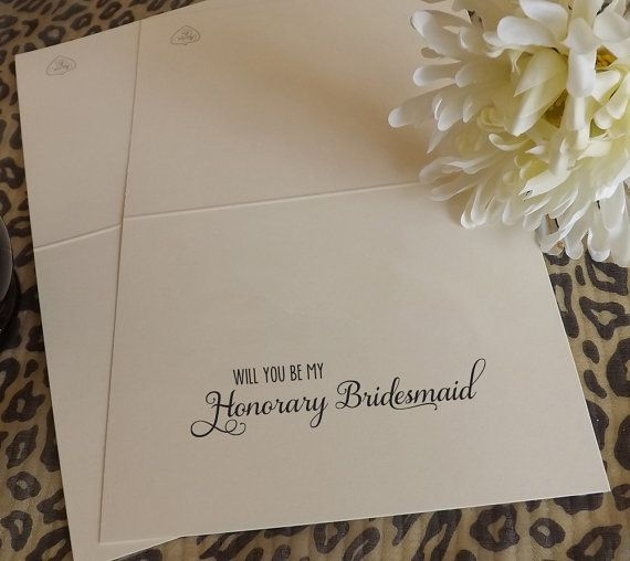 Will you be my Honorary Bridesmaid? Cards here. https://www.etsy.com/listing/172907015