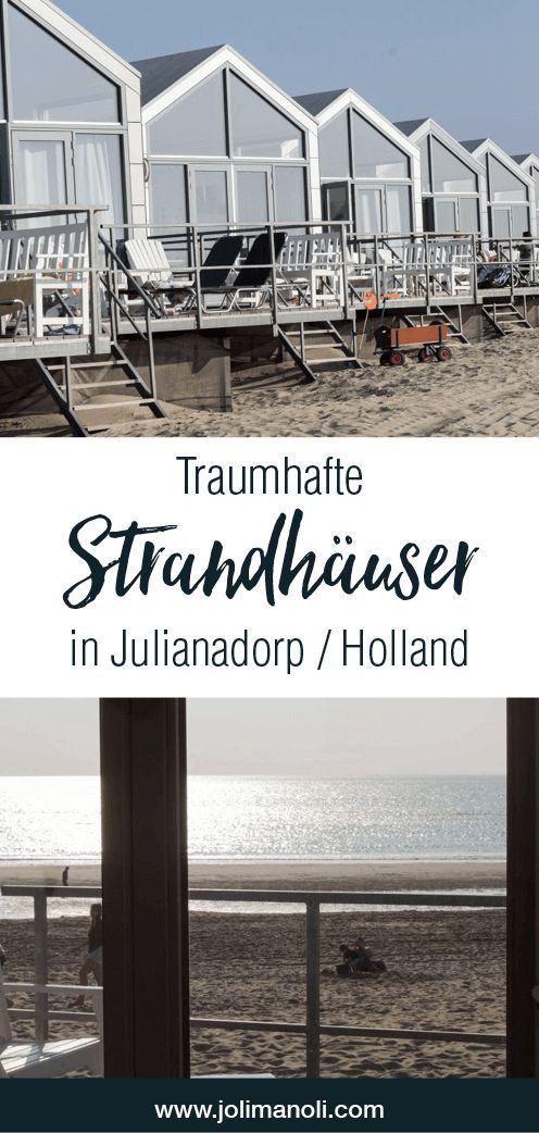 Strandhäuser in Julianadorp – Holland