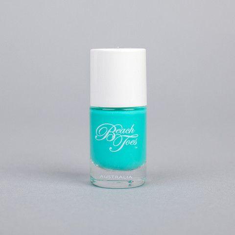 Beach Toes Caribbean Crush Turquoise Nail Polish