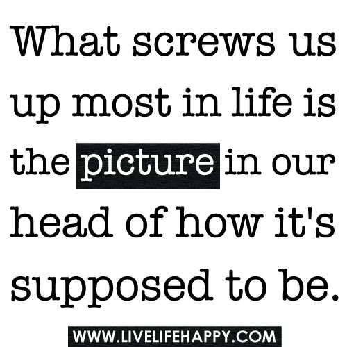 What Screws Us Up Most In Life Is The Picture: Picture, Photos Quotes, Make Money, Life, Funny Pics, Design Handbags, Living Happy, Truths, Inspiration Quotes