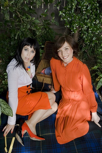 Katy Steele (from Little Birdy) and Sarah Blasco - love them both, jewels of Australian music scene