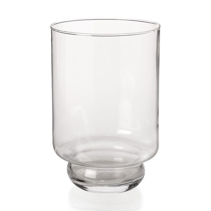 Superior Vase Transparent Pas Cher #13: Photophore En Verre Transparent H20,5cm Transparent - Lucky - Les Vases -  Vases Et