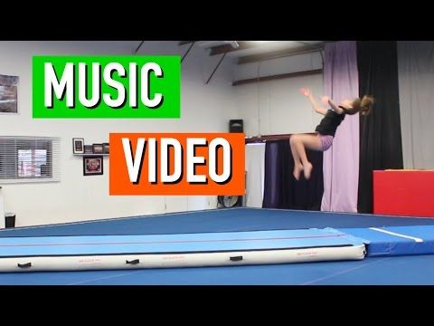 What Do You Mean Cheer and Gymnastics Music Video - YouTube