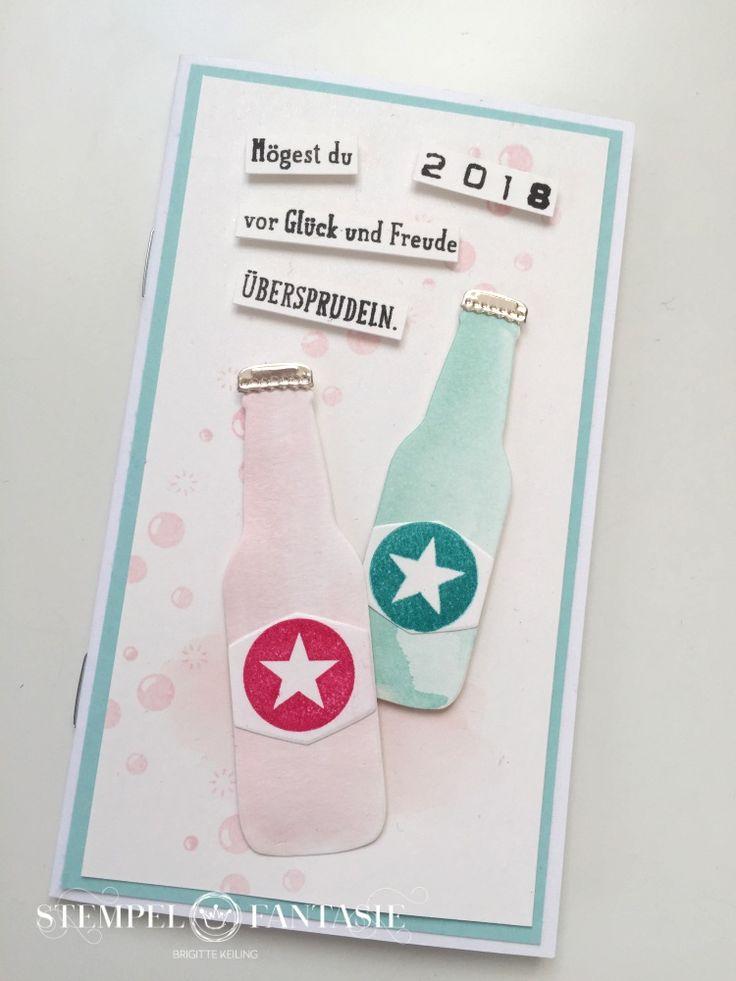 Spritziger Taschenkalender 2018 im Aquarellstil