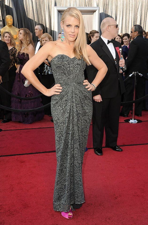 Busy Phillips - what a kooky outfit. I do love the dress though