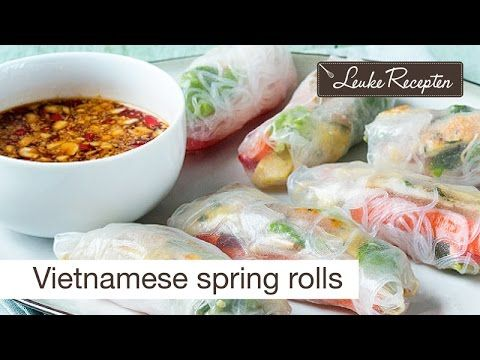 Vietnamese springrolls recept - YouTube