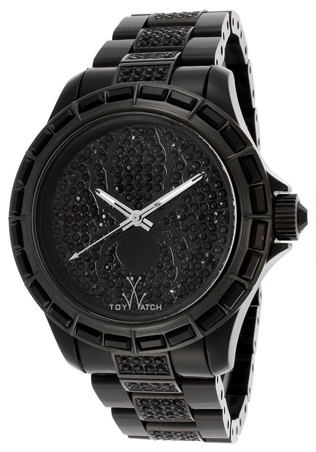 This black ToyWatch is perfect to wear with a luxe cashmere sweater and skinny jeans or a casual dress. Shine this holiday season with any of these 5 luxury watches.