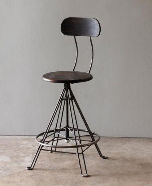 Pictures of Industrial Barstool