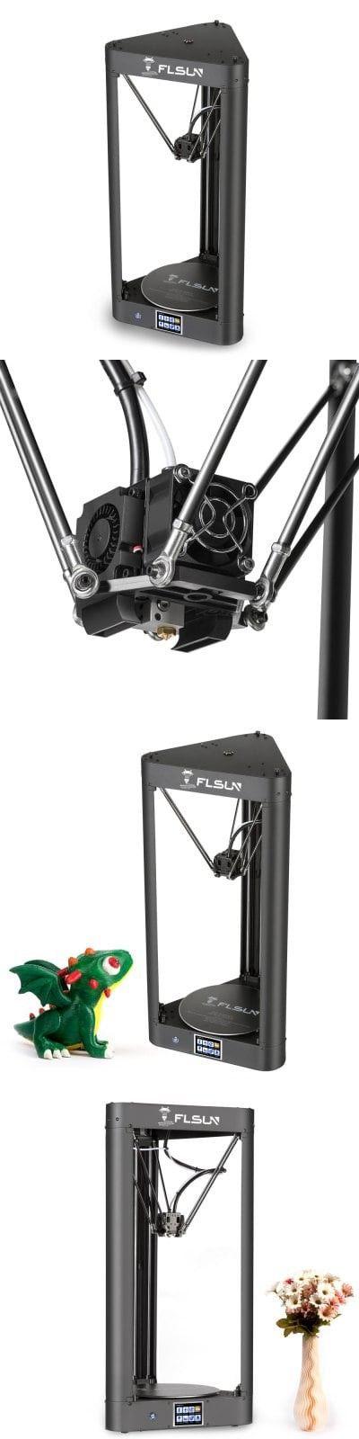 FLSUN QQ Wi-Fi Remote Control DIY 3D Printer Kit UK PLUG-$559.67