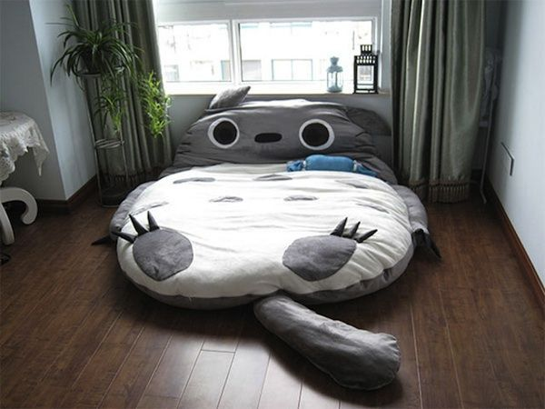 Saco Totoro 1: Sofa, Idea, Sleep Bags, Cats Beds, Totoro Beds, Futons Beds, Double Beds, Design, Kids Rooms
