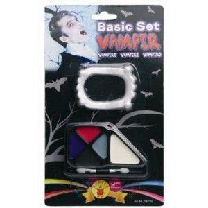 Kit maquillage vampire adulte, Halloween
