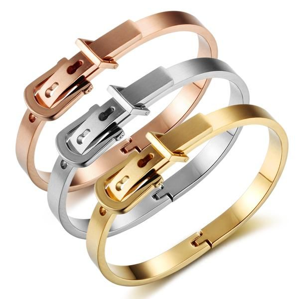 88a63bd56bb Kylie Jenner Style Cartier Love Ring Clasps Belt Buckle Bracelets ...