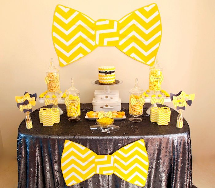 omgosh if i have a boy this will be his colors for my baby shower and i LOVE the bow time theme this is IT!!^_^