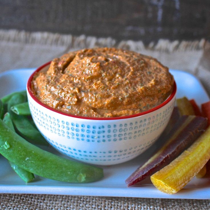 Paleo Hummus- a bean-free paleo version of hummus. So delicious and easy! Whole30 and low carb.