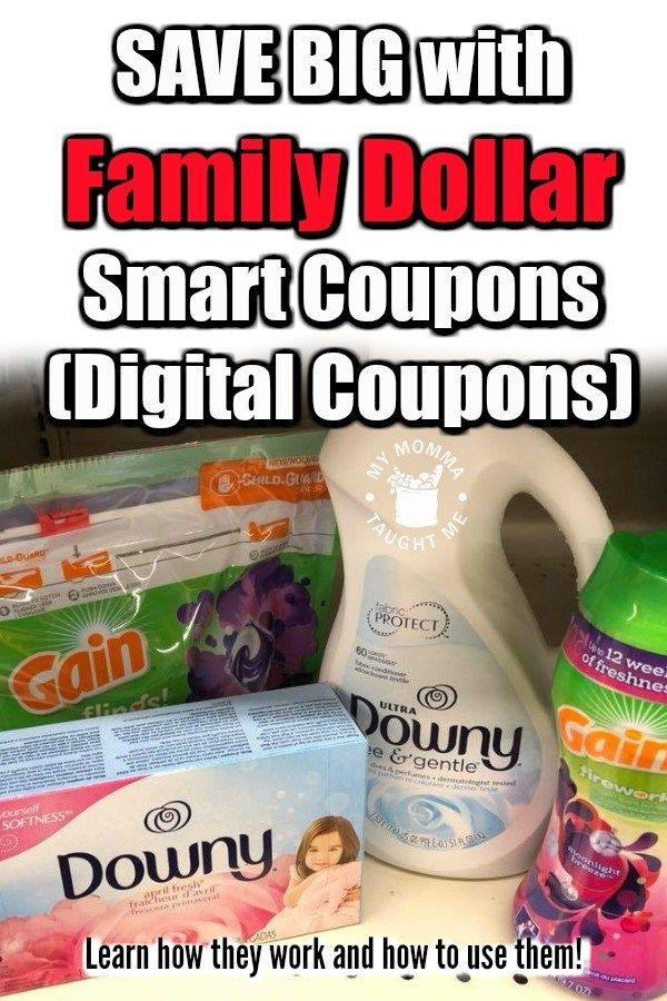 How To Use Family Dollar Smart Coupons Digital Coupons My Momma Taught Me Digital Coupons Family Dollar Couponing For Beginners
