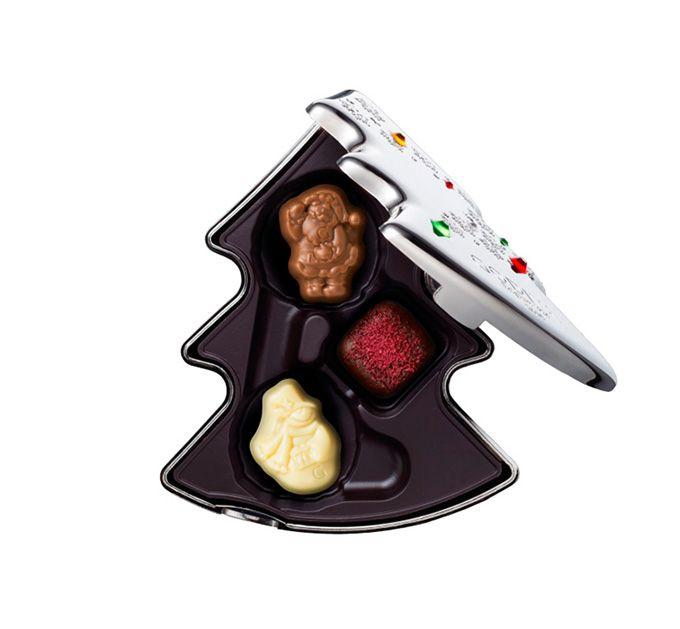 ゴディバのクリスマス限定「ノエル ルミヌ コレクション」キラキラ輝く華やかなショコラ&マカロンの写真25