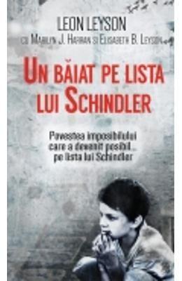 Un Baiat Pe Lista Lui Schindler - Leon Leyson
