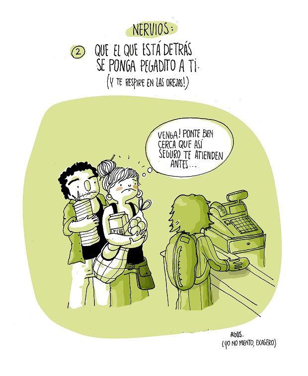 diario de una volátil ·nervios·