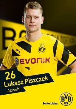 Lukasz Piszczek  (autogrammkarte)