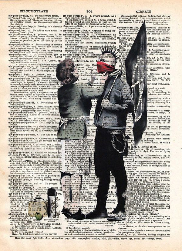Punk Mum banksy art, punk mom anarchy print, dictionary art print, wall art