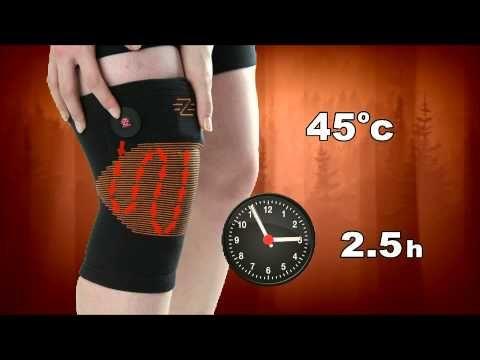 X2 Fűthető térdmelegítő - Fűthető ruha, termo ruha webáruház