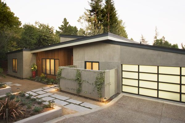 Award winning remodel front amazing before and after - Mid century modern exterior renovation ...