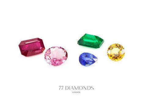 Beautiful colours! #gemstones @77 Diamonds