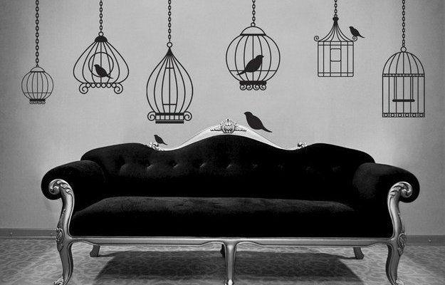 Птичьи клетки в интерьере: 45 окрыляющих идей http://www.inmyroom.ru/posts/svobodu-popugayam-ptichi-kletki-v-interiere от @InMyRoom_ru